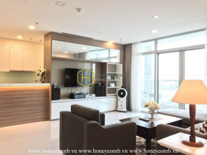 There is nothing perfect than waking up in this youthful furnished Vinhomes Central Park apartment