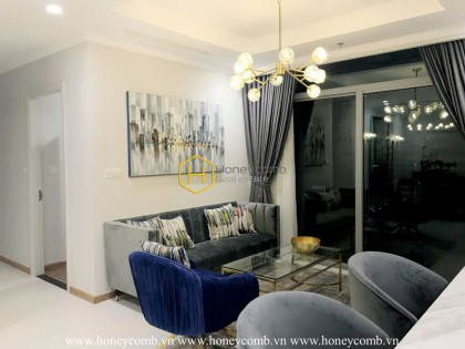 Vinhomes Central Park apartment: An energetic display of creative architecture