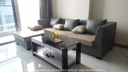 Vinhomes Central Park apartment - great gray combination