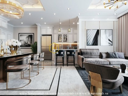 No more concern with this perfect apartment in Vinhomes Central Park