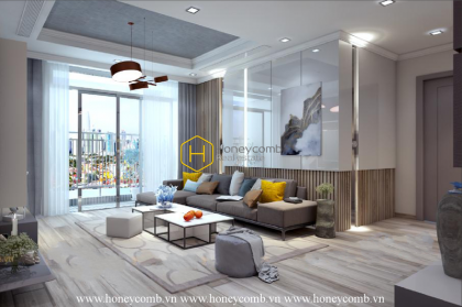 Make your dream come true with this amazing apartment for rent in Vinhomes Central Park