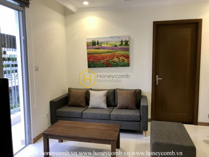 Enjoy a wonderful life in this convenient apartment for rent in Vinhomes Central Park