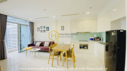 This amazing furnished apartment that you can not take eyes off in Vinhomes Central Park