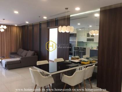 Vinhomes Central Park apartment: Simple design but quality life