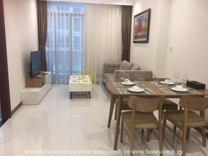 Simple and modern style apartment for rent in Vinhomes Central Park