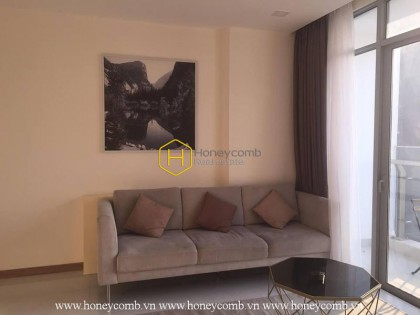 Comfortable 2-bedroom apartment in Vinhomes Central Park for rent