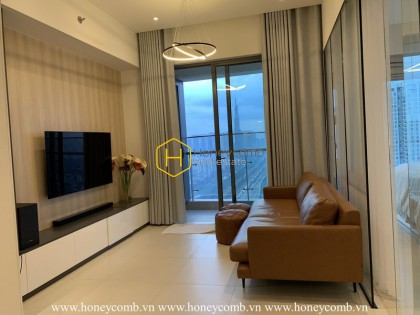 Spacious living space and harmonizing style in Gateway apartment for rent