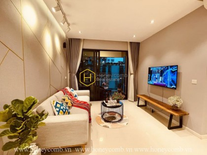 Excellent view- Delicate Decoration: Perfect Interfusion in The Estella Heights apartment