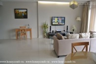 Two bedroom apartment Luxury interior design in City Garrden for rent