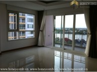 Unfurnished three beds apartment in Xi Riverview Palace for rent