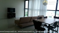 Three bedroom apartment with river view and new furniture in Masteri for rent