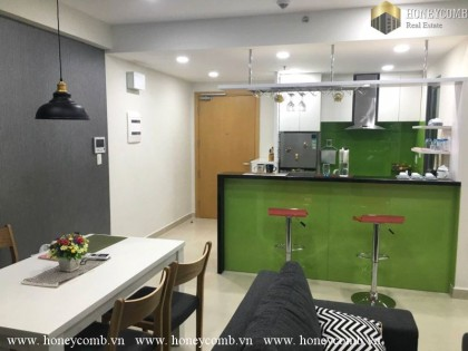 Small apartment with nice designed for rent in Masteri Thao Dien, Dist 2
