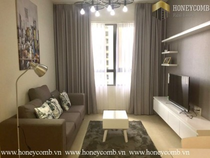 One bedroom apartment with low floor in Masteri for rent
