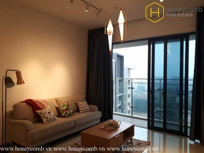 The Estella Heights 2 bedrooms apartment with nice furnished
