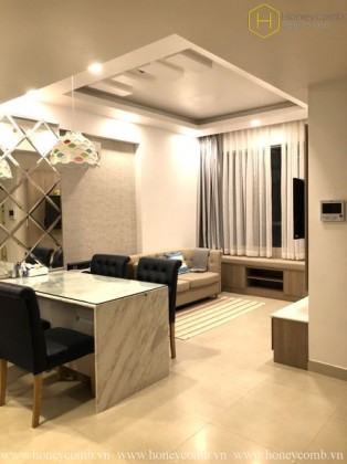 Luxury decoration 2 beds apartment in Masteri Thao Dien