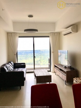 3 beds apartment with high floor and nice view in Masteri Thao Dien