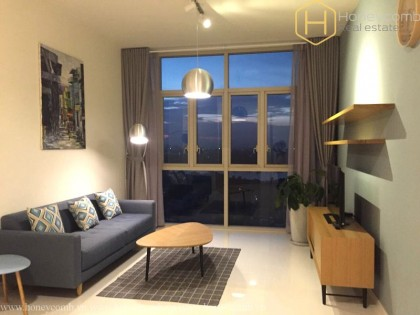 Luxury design 2 beds apartment with river view in The Vista