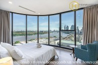 This wonderful 3 bedrooms apartment owned the best view in Vinhomes Golden River