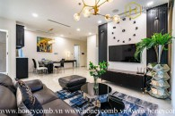 The 3 bedrooms-apartment is extremely impressive in Vinhomes Golden River