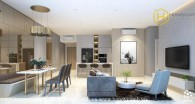Decor for 3 bedrooms apartment for rent in The Estella Heights