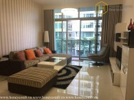 Modern decorated with 3 bedrooms apartment in  The Vista for rent