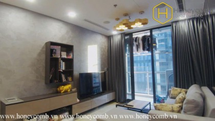 What do you think about this 1 bed ravishing apartment in Vinhomes Golden River?