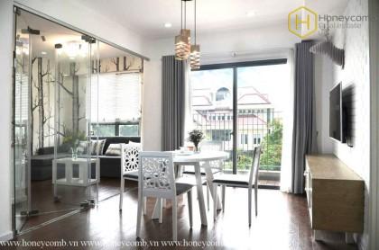 Masteri 1 bedroom apartment luxury interior for rent