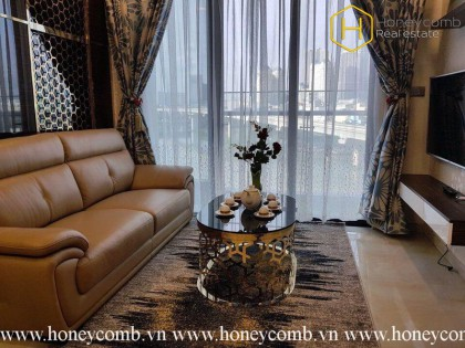 The 2 bedroom apartment with royal style in Vinhomes Golden River