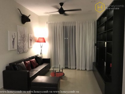 Highly-elegant and luxurious 2 beds apartment in Masteri Thao Dien for rent