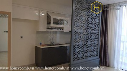 The 1 bedroom apartment will gives you tenderness and warmth in Vinhomes Golden River