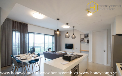 Modern decoration with river view in Gateway Thao Dien