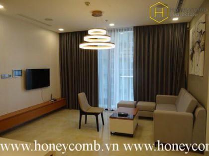 The 2 bedrooms apartment is very impressive in Vinhomes Golden River