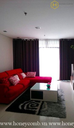 Fully furnished 2 bedrooms apartment with nice view in City Garden