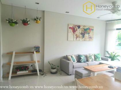 Bright and splendid 1 bedroom apartment with low floor in City Garden for rent