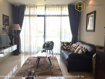 Nice design 1 bedroom apartment with the middle floor in City Garden for rent