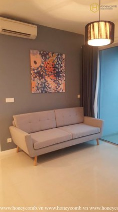 Simple 2 bedrooms apartment in The Estella Heights