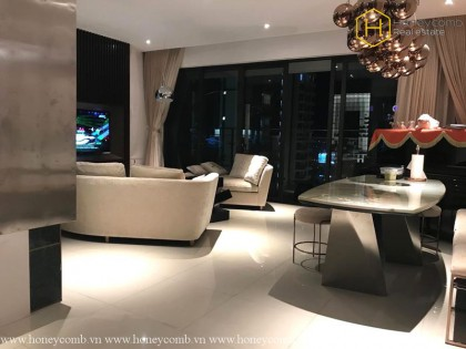 Luxury decoration 4 bedrooms apartment for rent in The Estella Heights