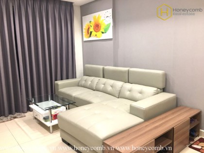 Pretty! 2 bedrooms apartment with city view in Masteri Thao Dien for rent