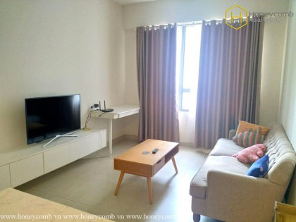 Bright and splendid 1 bedroom apartment in Masteri Thao Dien
