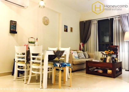 2 bedrooms apartment is tenderness and warmth in Masteri Thao Dien