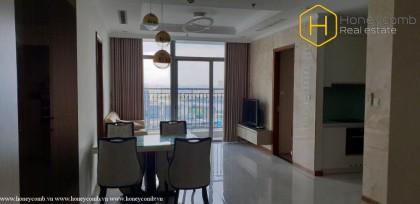 Fully furnished 3-bedroom apartment in Vinhomes Central Park for rent