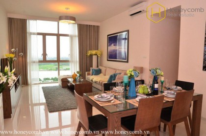 Luxury with 3 bedroom apartment in The Vista for rent