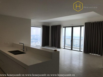 Unfurnished 3 beds apartment in Gateway Thao Dien