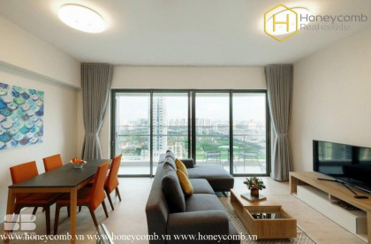 The cozy and modern 2 bed apartment in Gateway Thao Dien
