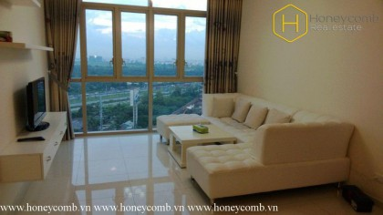 Fully furnished 2 bedrooms apartment in The Vista for rent