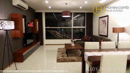 Special style with 3 bedrooms apartment in Thao Dien Pearl for rent
