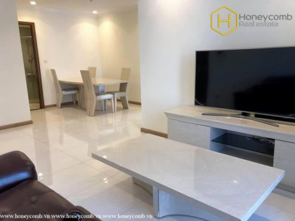 Simple style with 3 bedrooms apartment in Vinhomes Central Park for rent