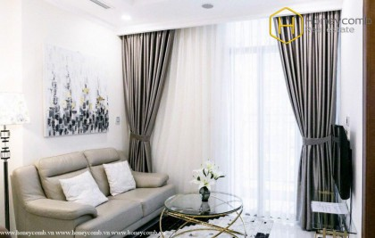 Modern and Luxury with 1 bedrooms apartment in Vinhomes Central Park