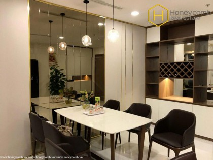 Special style with 3 bedrooms apartment inVinhomes Central Park for rent