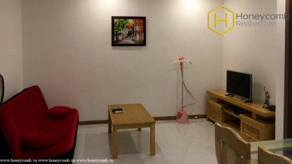 Simple and fully furnished with 1 bedroom apartment in Vinhomes Central Park